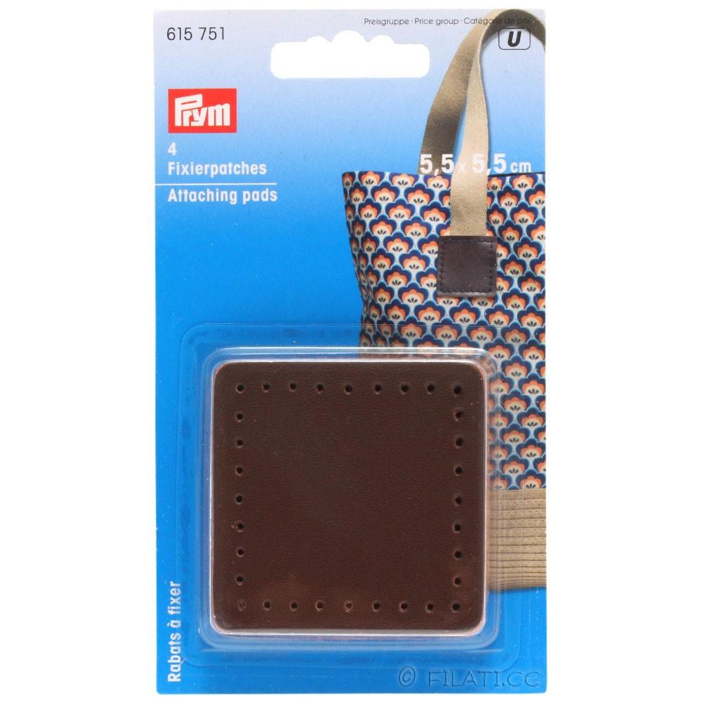 Parche adhesivo para asa de bolso 615751/55mm | 01-marrón