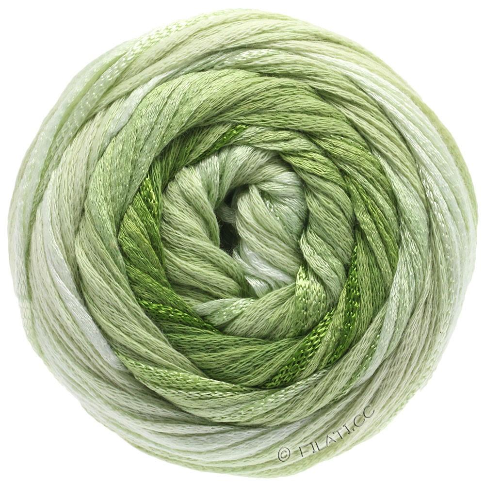 Lana Grossa ALLEGRO Degradé | 207-naturaleza/verde delicado/verde claro/hoja verde/verde oliva