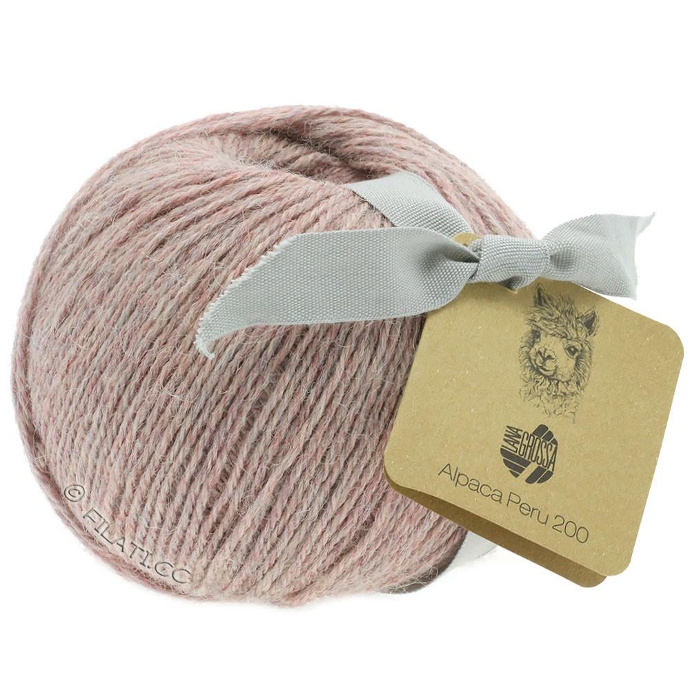 Lana Grossa ALPACA PERU 200   201-palo de rosa