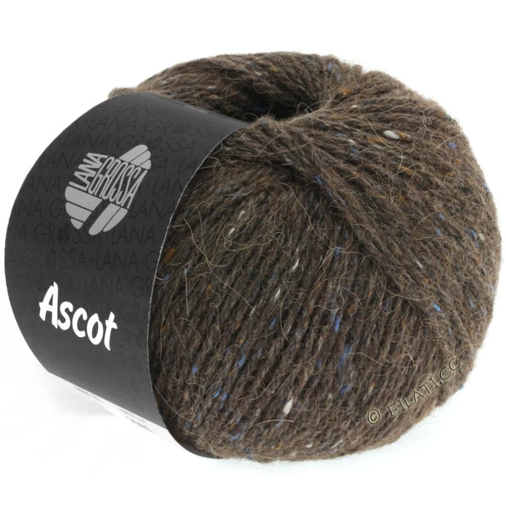 Lana Grossa ASCOT | 09-marrón oscuro mezcla