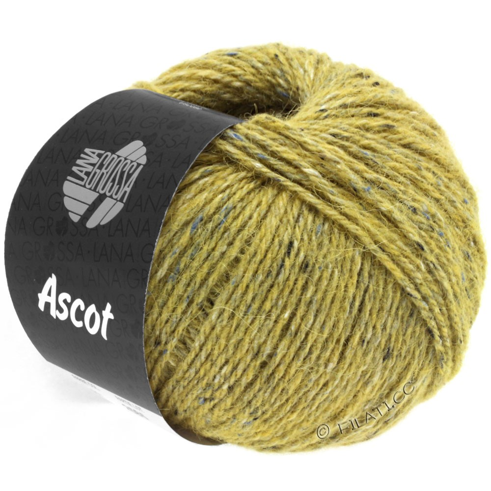 Lana Grossa ASCOT | 20-amarillo mostaza mezcla