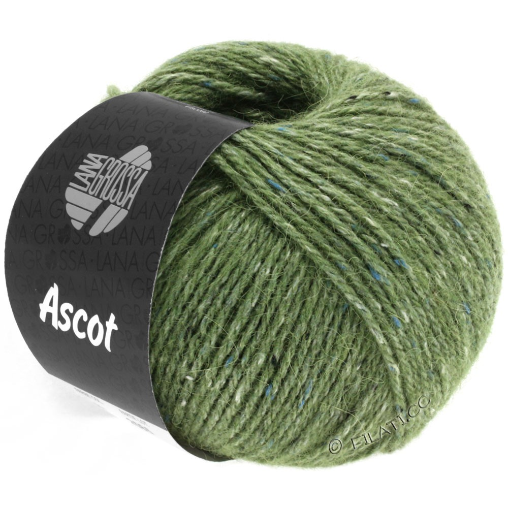 Lana Grossa ASCOT | 21-verde reseda mezcla