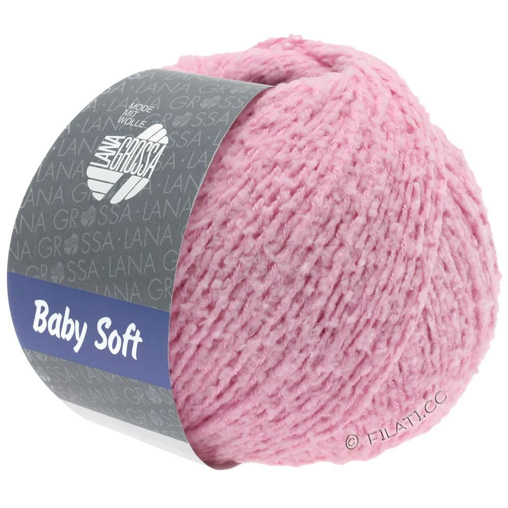 Lana Grossa BABY SOFT | 06-rosa vívida delicada