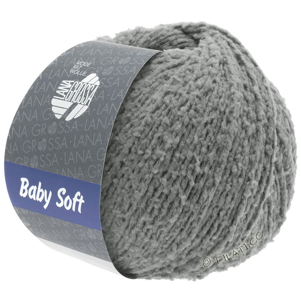 Lana Grossa BABY SOFT | 11-gris oscuro