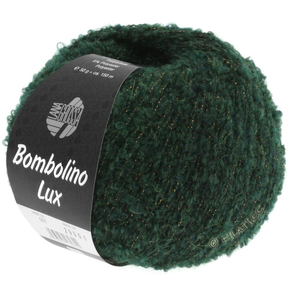 Lana Grossa BOMBOLINO Lux   010-abeto/cobre