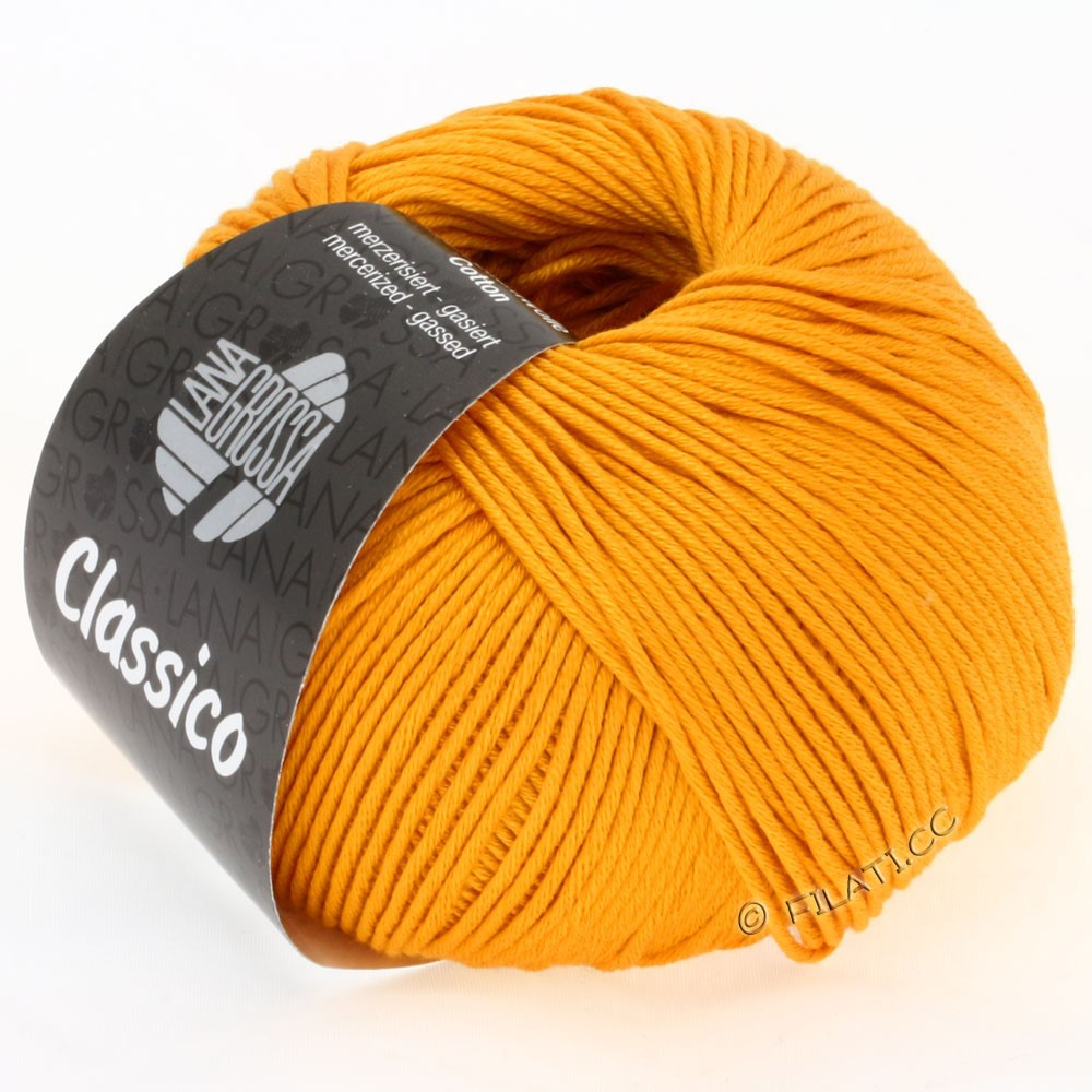 Lana Grossa CLASSICO Uni   32-amarillooro