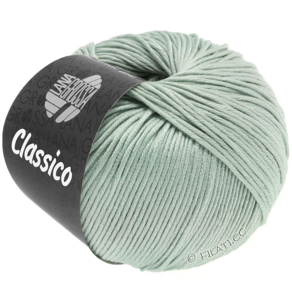 Lana Grossa CLASSICO Uni   38-gris verde