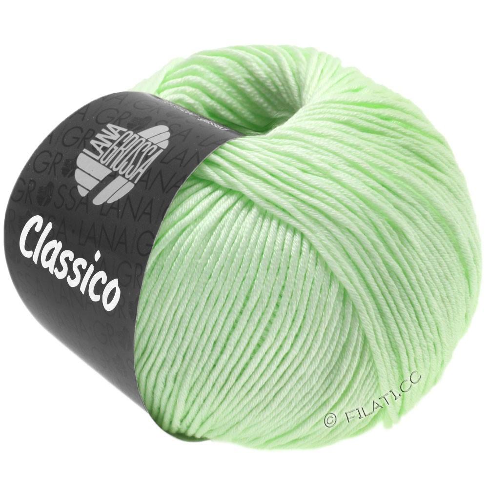 Lana Grossa CLASSICO Uni   52-verde pálido
