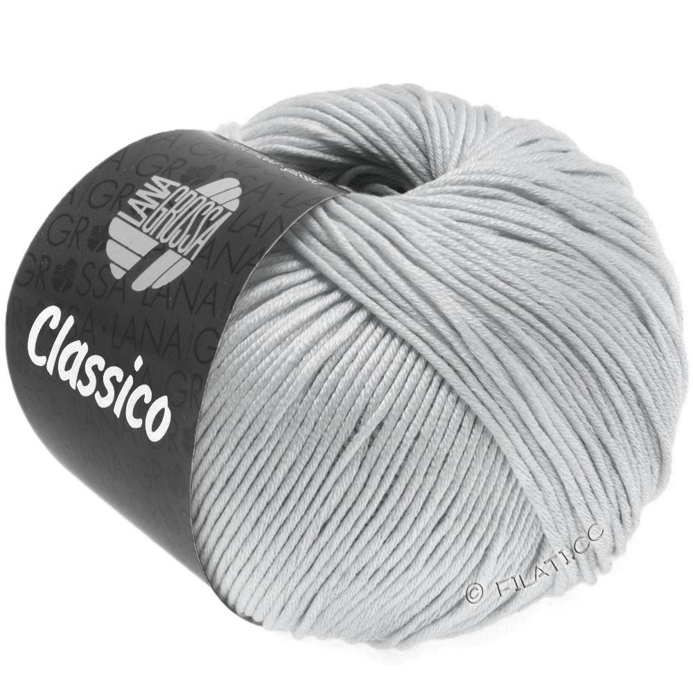 Lana Grossa CLASSICO Uni   57-gris plata