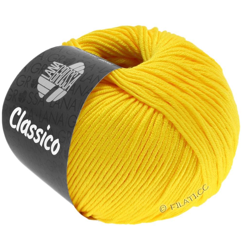 Lana Grossa CLASSICO Uni   58-amarillo