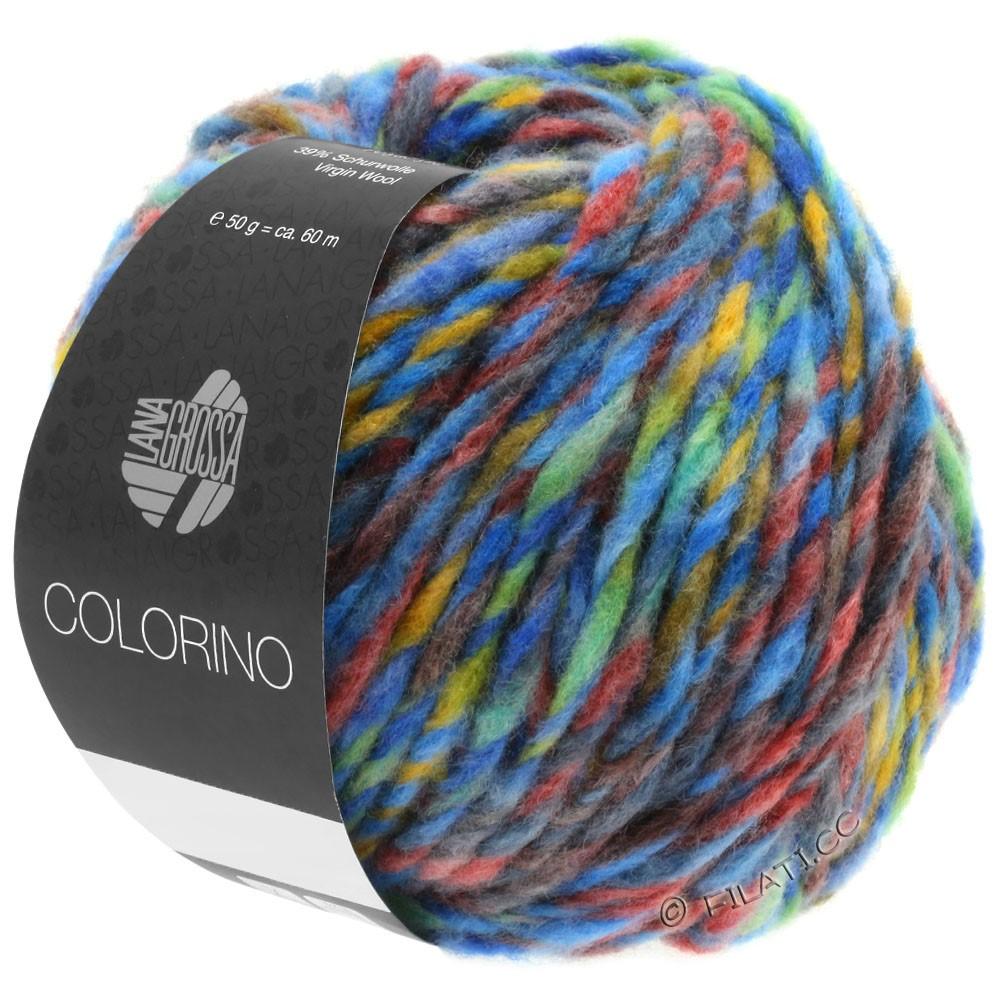 Lana Grossa COLORINO | 07-azul/verde/terracota/turquesa/antracita