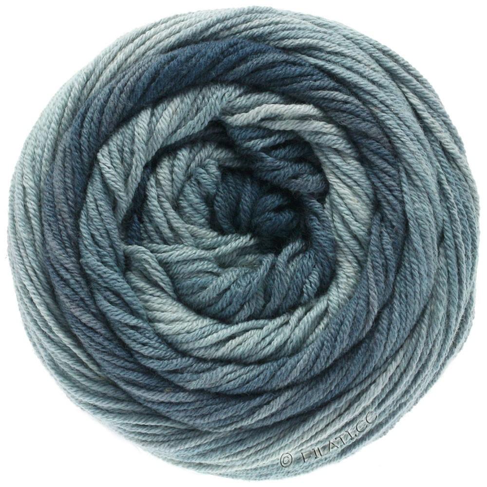 Lana Grossa ELASTICO Degradé | 708-gris claro/gris medio/gris oscuro/pizarra