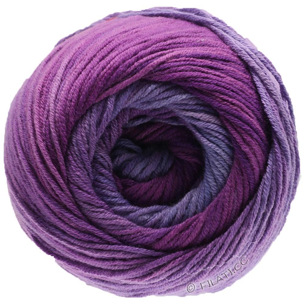Lana Grossa ELASTICO Degradé | 711-lavanda/lila/rojo violeta