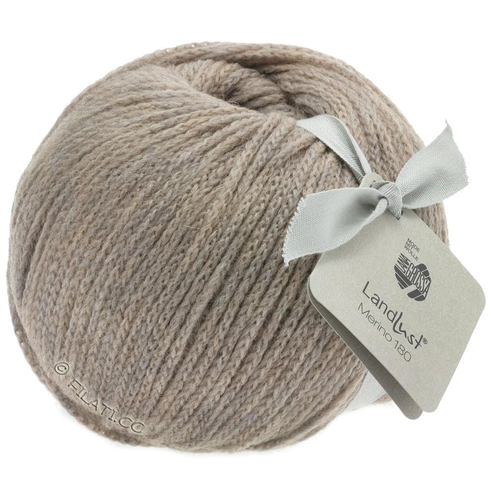 Lana Grossa LANDLUST MERINO 180   204-gris beige