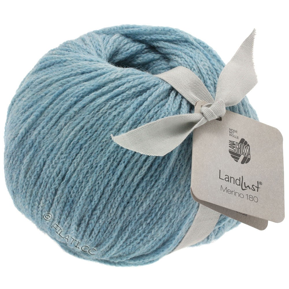 Lana Grossa LANDLUST MERINO 180   207-azul claro