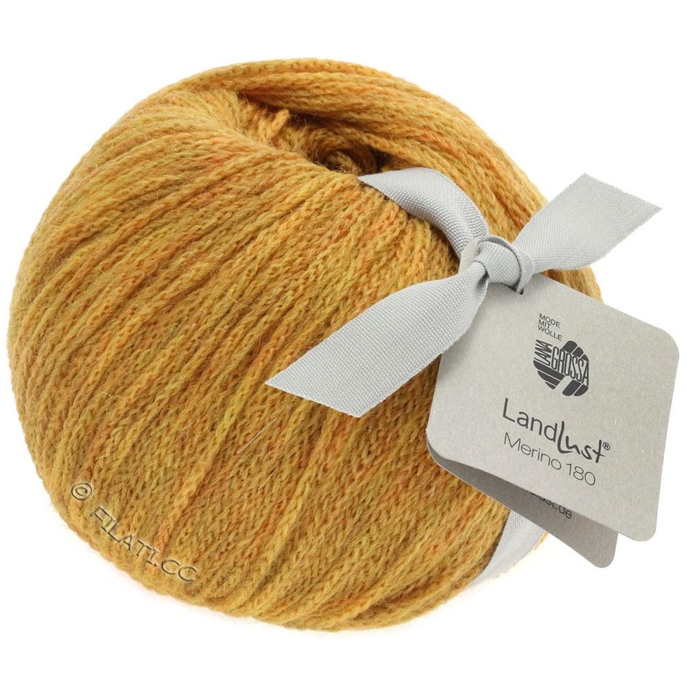 Lana Grossa LANDLUST MERINO 180   213-amarillo miel
