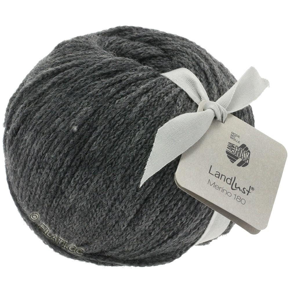 Lana Grossa LANDLUST MERINO 180   219-gris oscuro