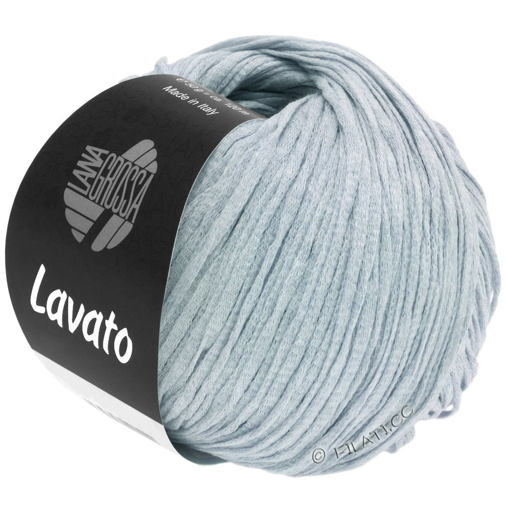 Lana Grossa LAVATO | 15-azul claro mezcla