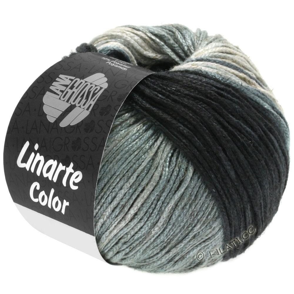 Lana Grossa LINARTE Color | 207-grège/gris piedra/gris pizarra/antracita