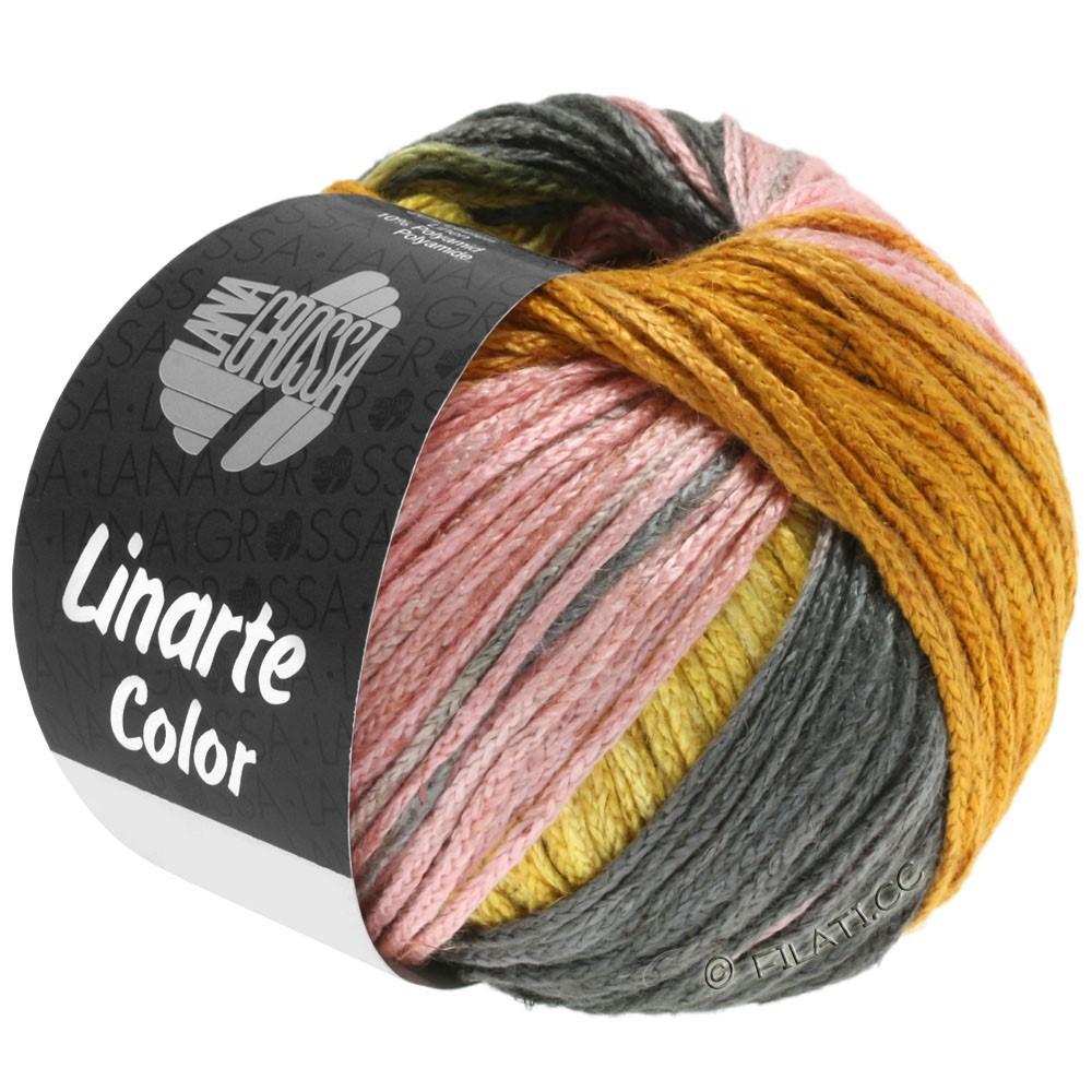 Lana Grossa LINARTE Color | 210-amarillo retama/oro/melocotón/caqui