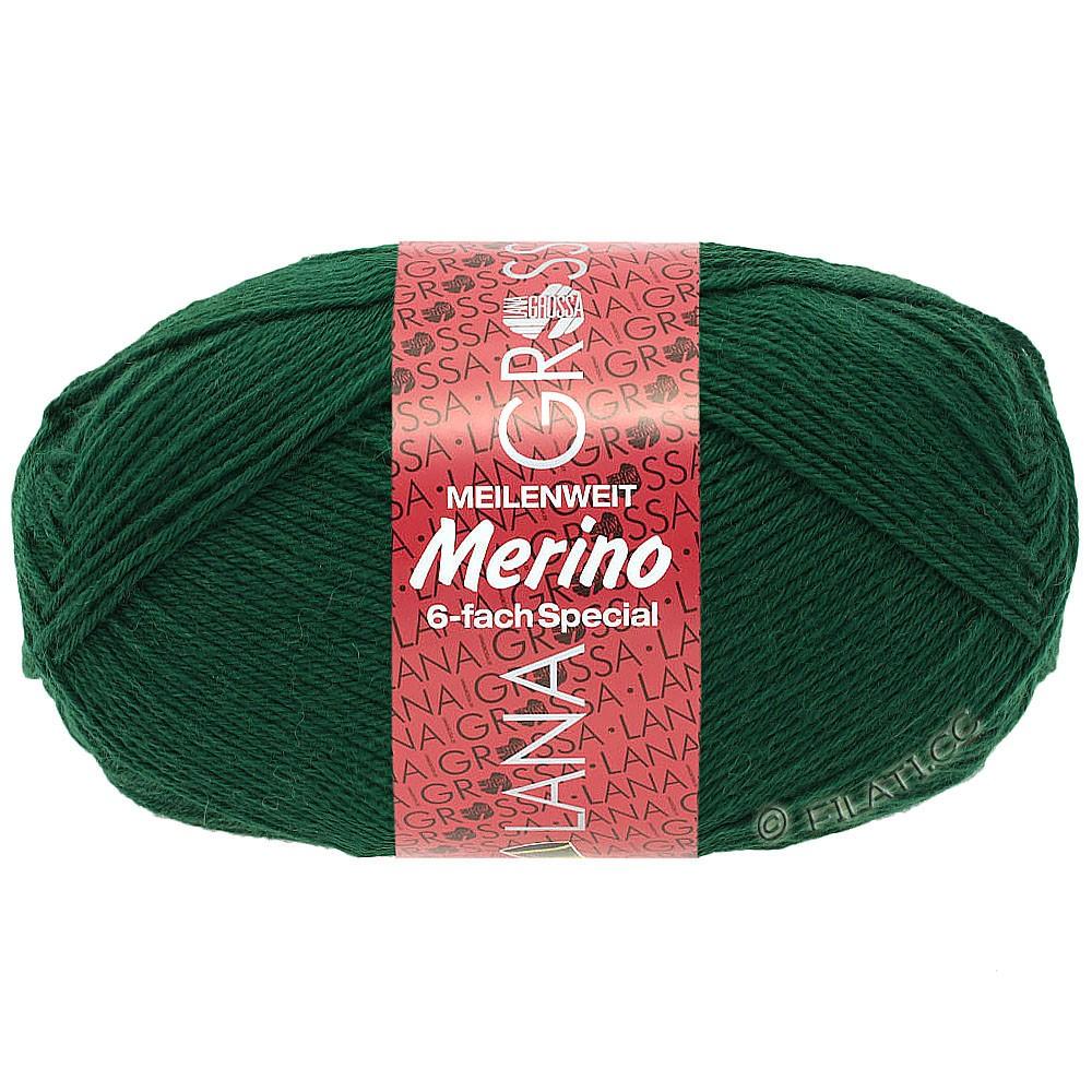 Lana Grossa MEILENWEIT 6-FACH 150g Merino   4-verde botella