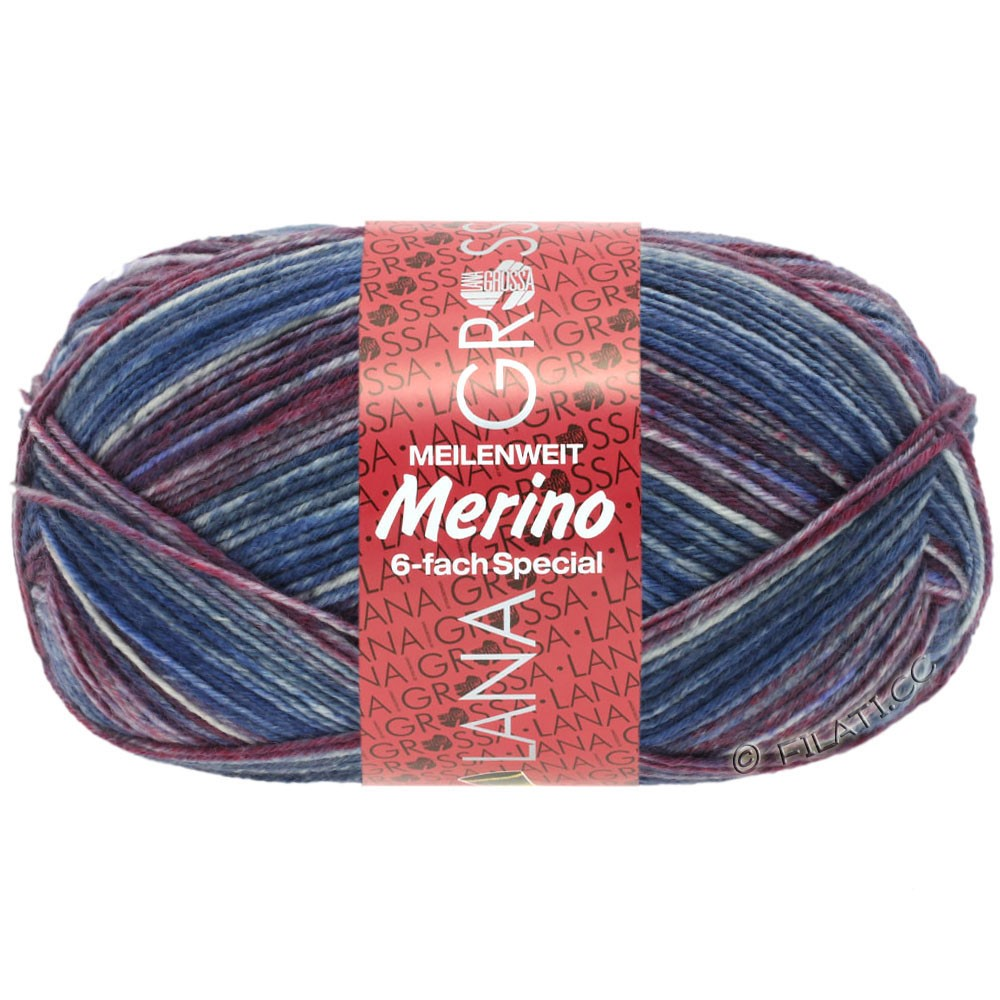 Lana Grossa MEILENWEIT 6-FACH 150g Merino   508-