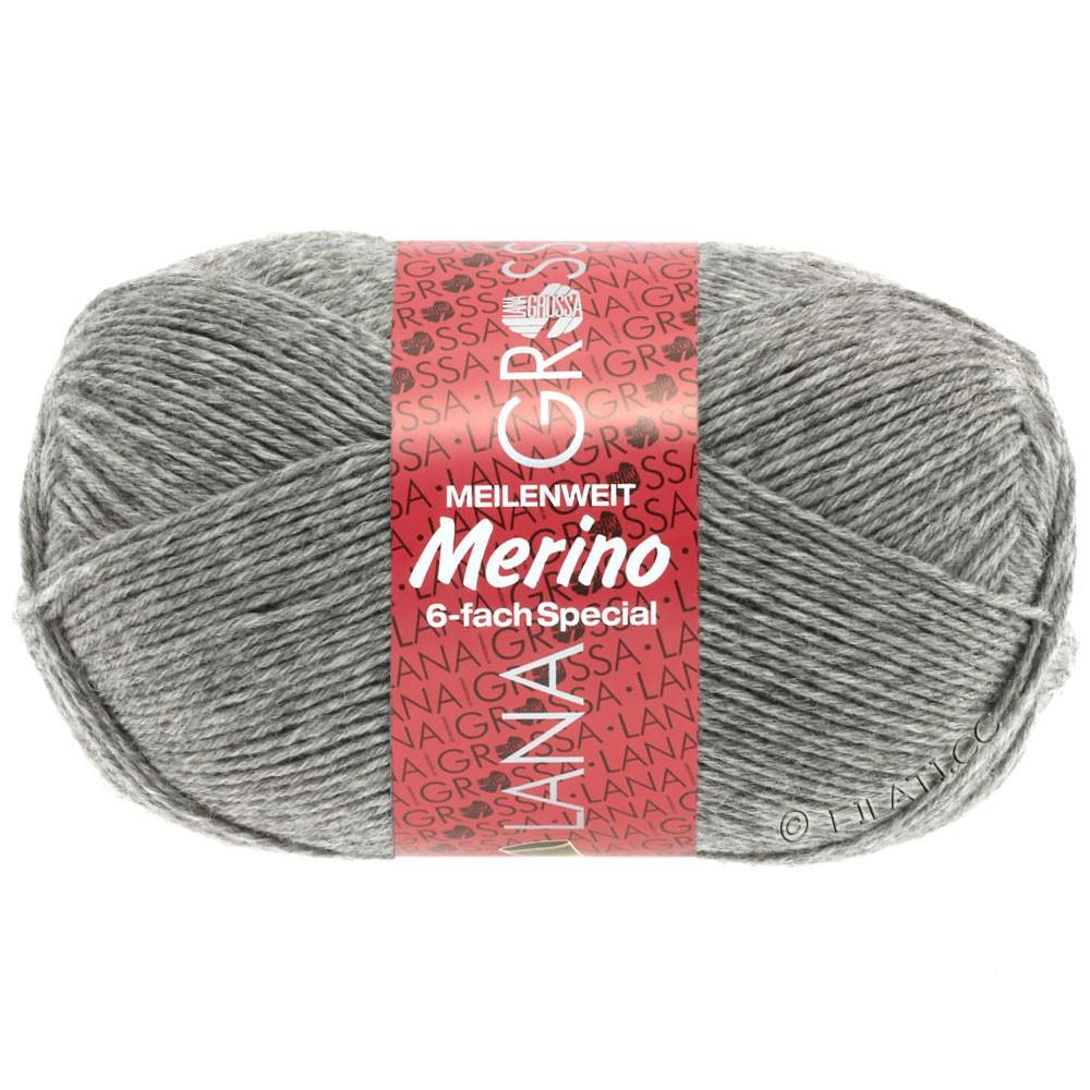 Lana Grossa MEILENWEIT 6-FACH 150g Merino   6-gris