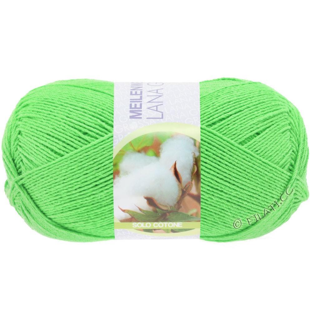 Lana Grossa MEILENWEIT 100g Solo Cotone Unito | 3457-verde