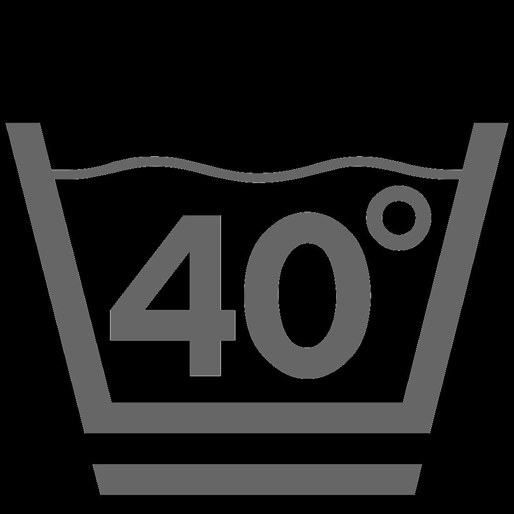 Lavar a 40 ° C (suavemente)