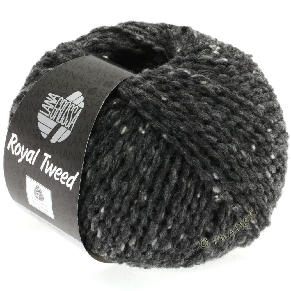 Lana Grossa ROYAL TWEED   06-antracita mezcla