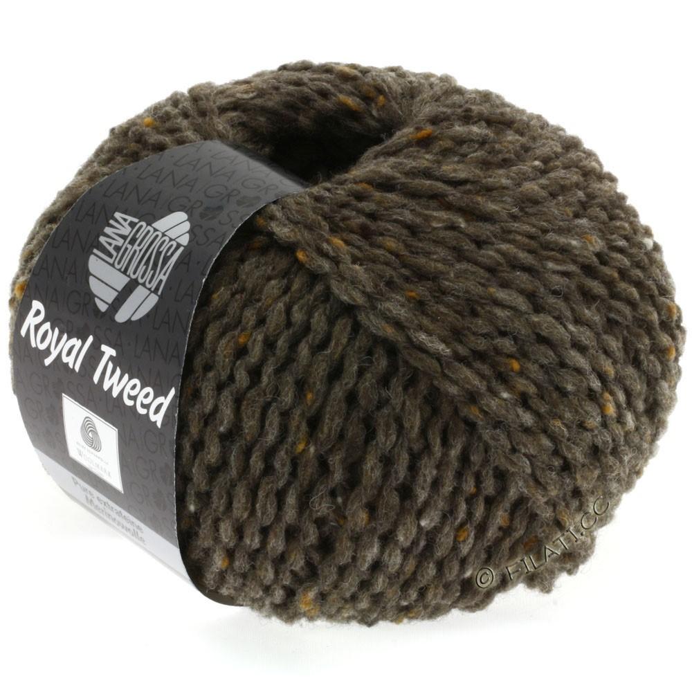 Lana Grossa ROYAL TWEED   12-gris marrón mezcla