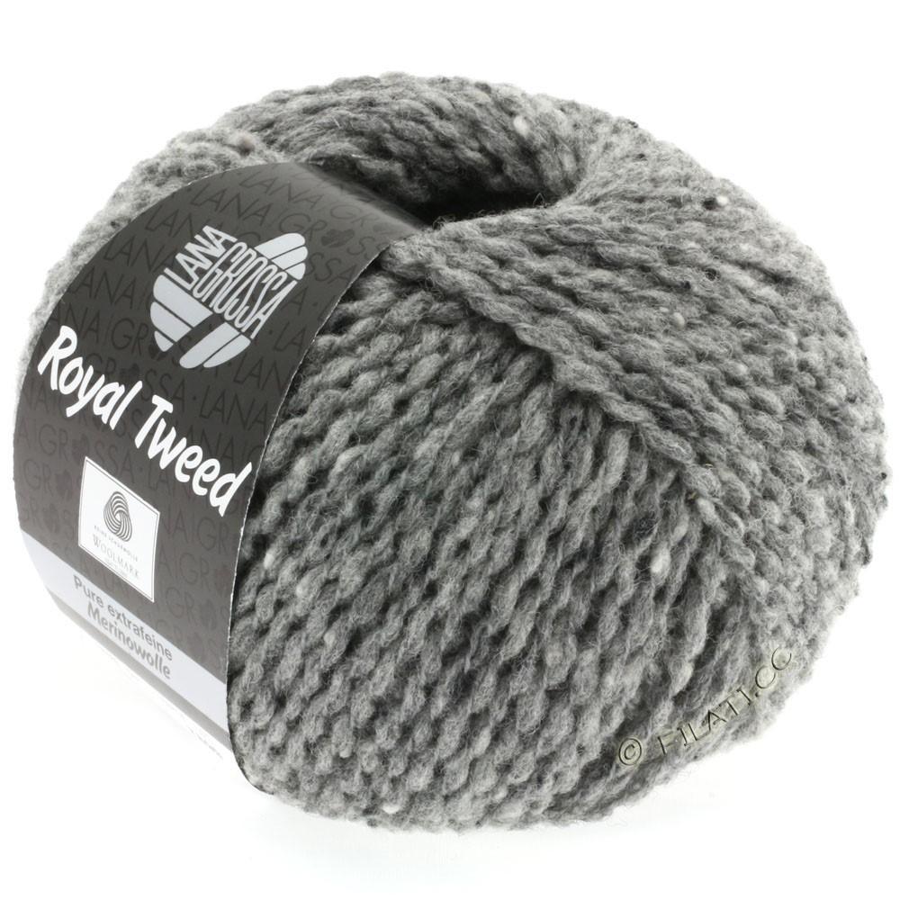 Lana Grossa ROYAL TWEED   14-gris mezcla