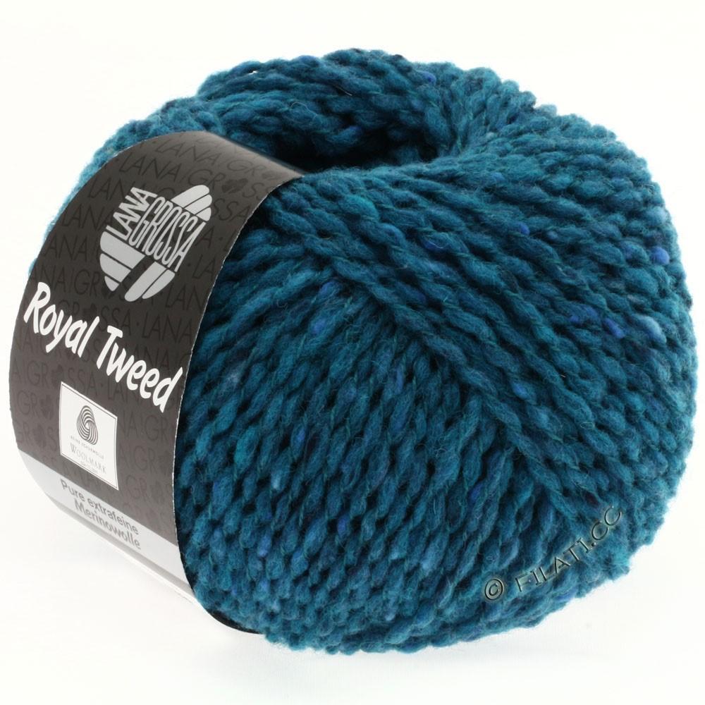 Lana Grossa ROYAL TWEED   77-azul octanaje mezcla