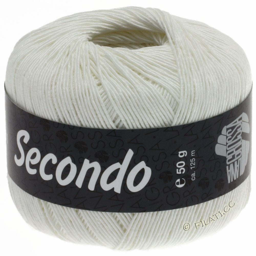 Lana Grossa SECONDO | 15-blanco