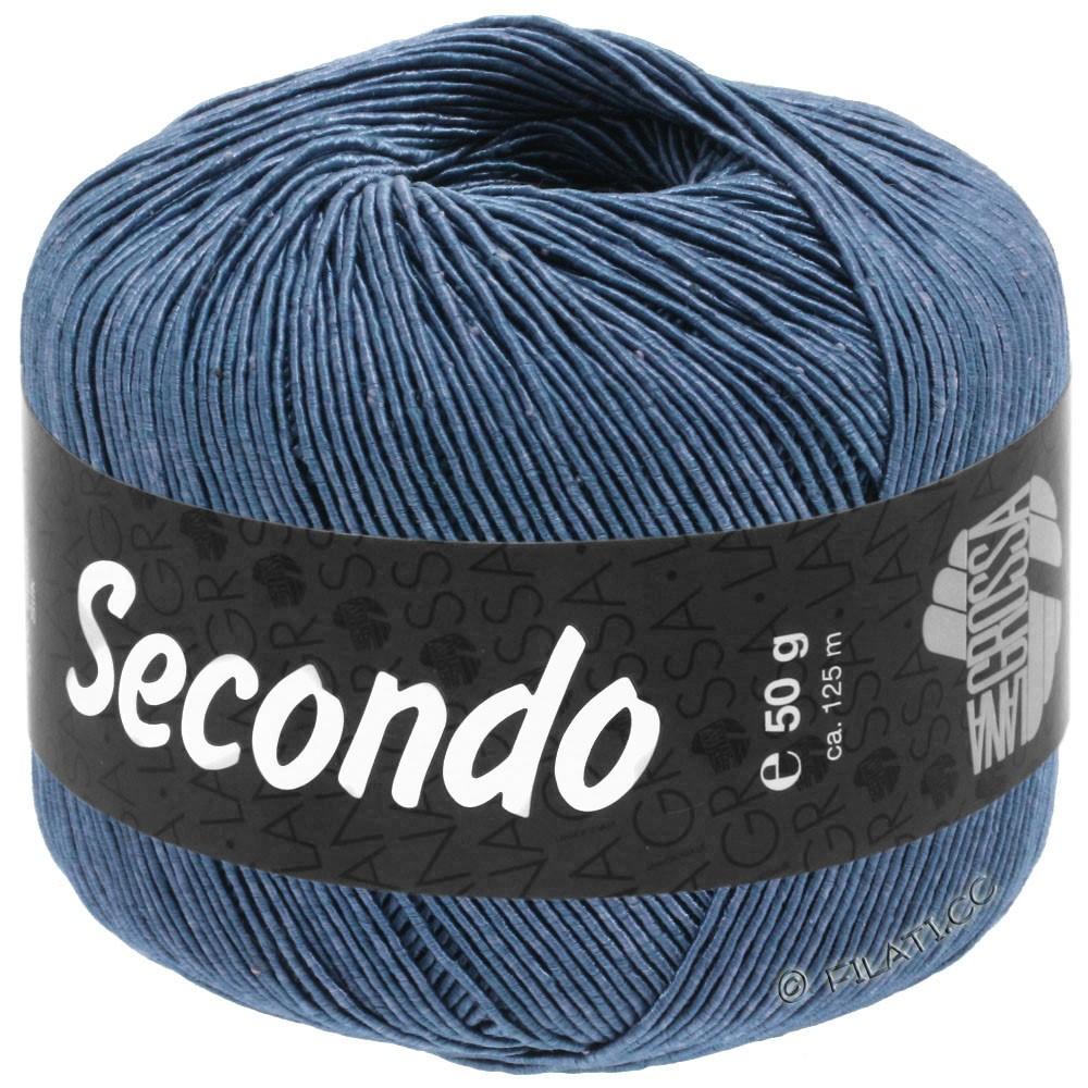 Lana Grossa SECONDO | 84-azul acero