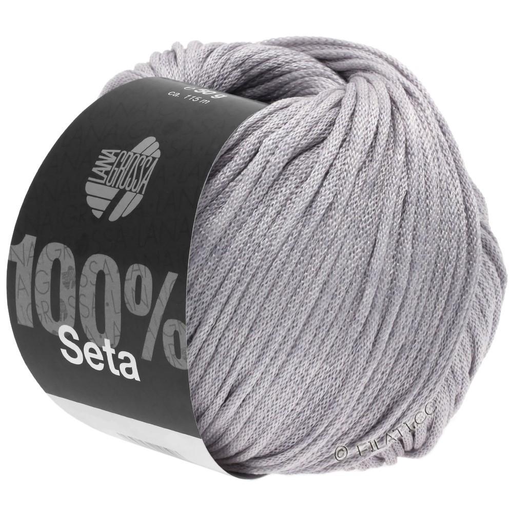 Lana Grossa SETA | 04-gris púrpura