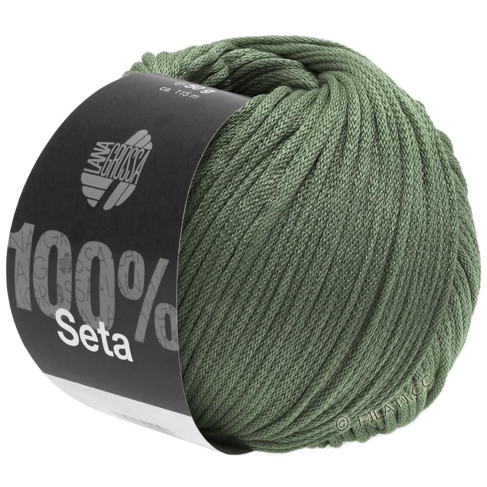 Lana Grossa SETA | 13-gris verde