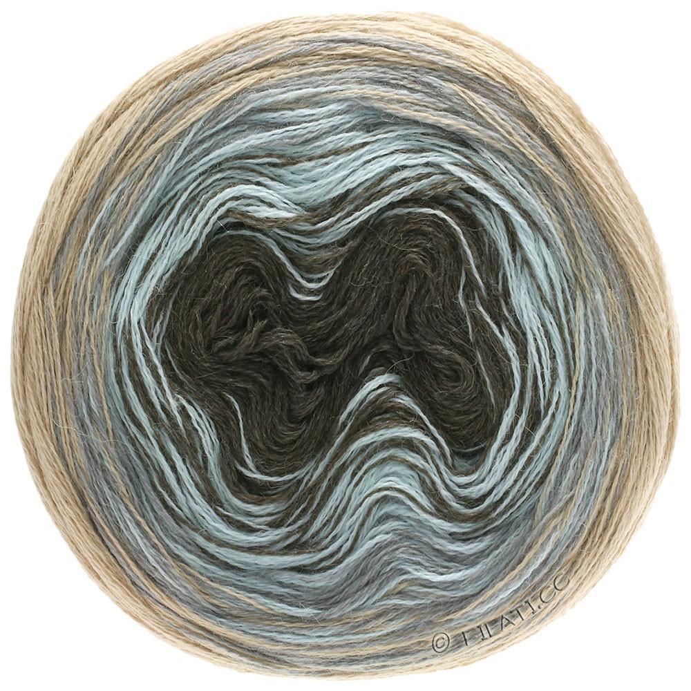 Lana Grossa SHADES OF ALPACA SILK   304-beige/gris claro/azul hielo/moca