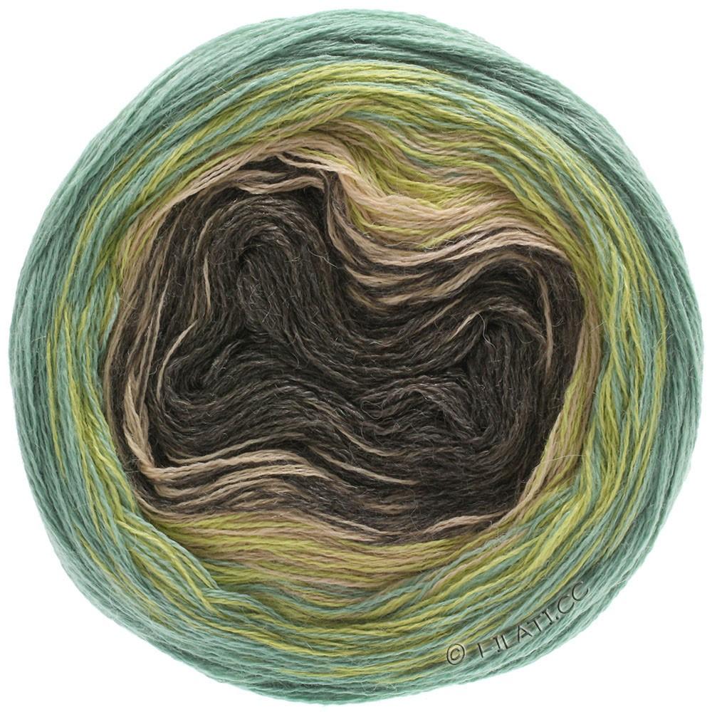 Lana Grossa SHADES OF ALPACA SILK   305-mostaza/verde/beige/moca