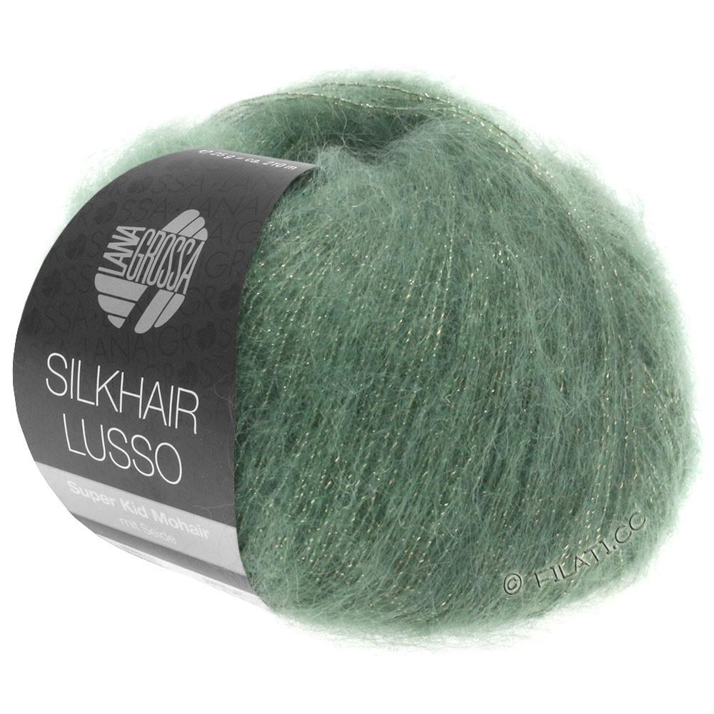Lana Grossa SILKHAIR Lusso | 911-verde