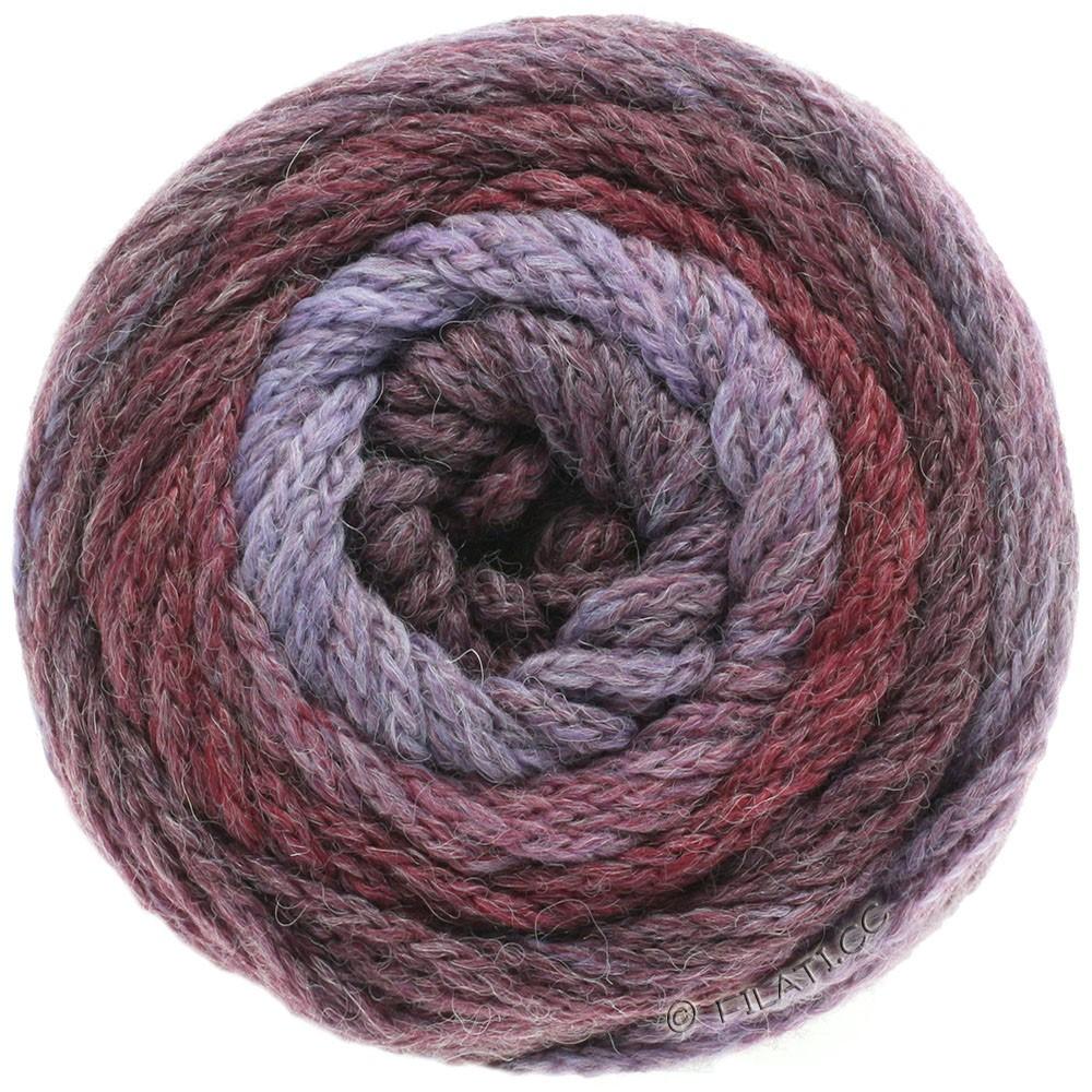 Lana Grossa SUPER COLOR | 105-purpura/baya/burdeos/élder
